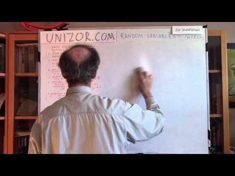Unizor - Probability - Random Variables - Introduction