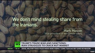 There are two bones of contention between US & Iran – nuclear programme and... pistachios
