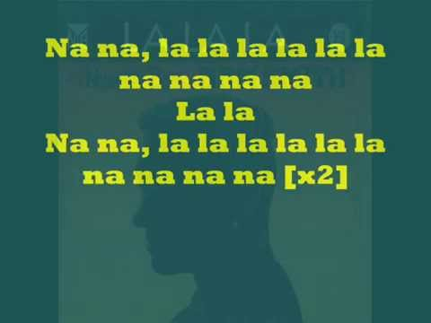 Lalala Naughty Boy Ft  Sam Smith Lyrics video