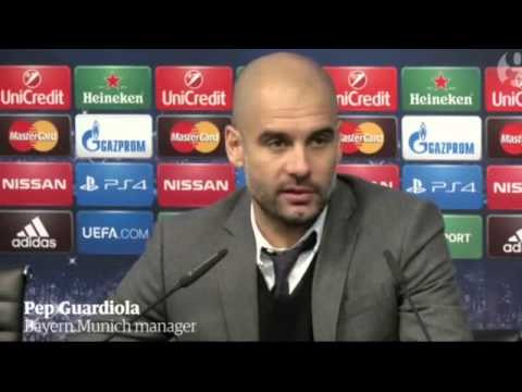 Pep Guardiola defends Bayern Munich after Manchester City defeat – video   Football   The Guardian