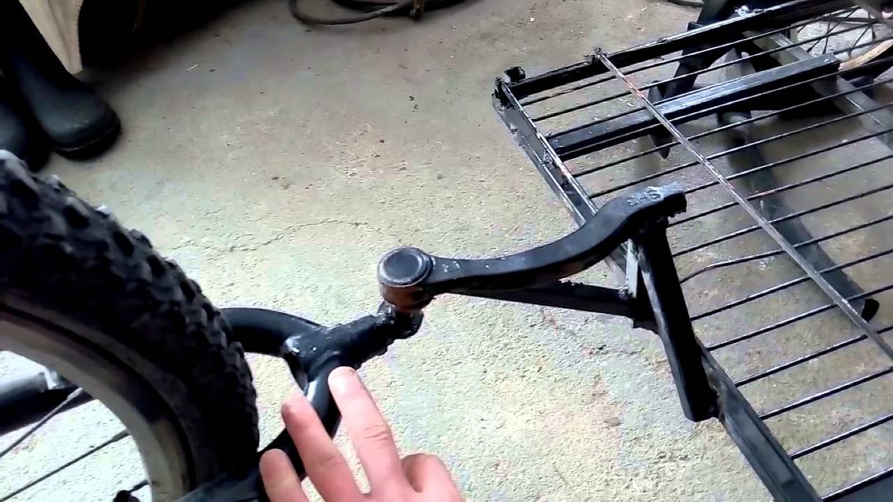 Сцепное устройство для велосипеда своими руками 38