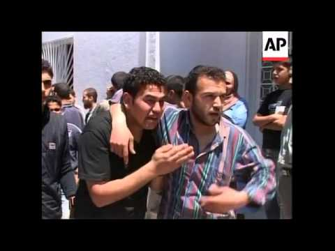 WRAP Israeli air strike on northern Gaza, peace rally in Jerusalem