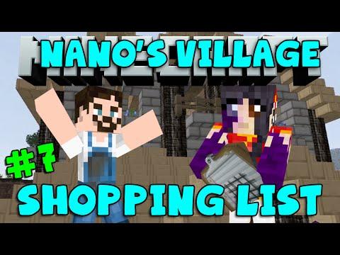 Minecraft - Nano's Village #7 - Shopping List (yogscast Complete Mod Pack) video