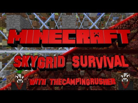 Minecraft SkyGrid Survival - Episode 21