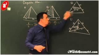 Üçgende Alan 1 - Önder Hoca ile Pratik Geometri