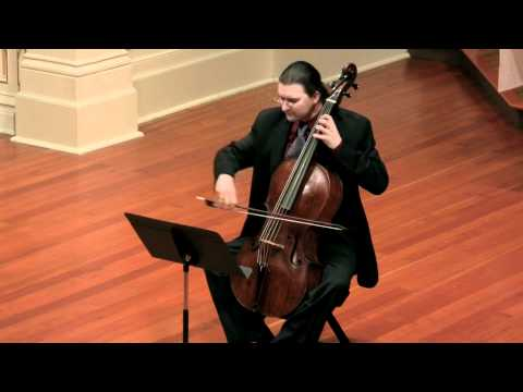 Bach Cello Suite No. 6 BWV 1012: Gavotte; William Skeen, baroque cello