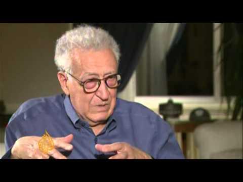 Syria envoy Lakhdar Brahimi speaks to Al Jazeera