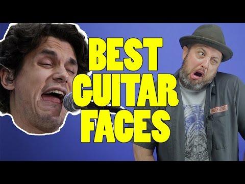 Best Guitar Faces