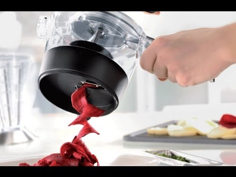 Gefu Spiralfix Spiral Slicer Product Overview & Demonstration