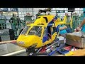 BIG SCALE RC BK-117 AMAZING ELECTRIC MODEL HELICOPTER INDOOR FLIGHT DEMONSTRATION
