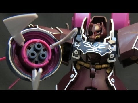 HGUC Rozen Zulu (Part 5: Verdict) Gundam Unicorn Angelo Sauper UC Gunpla model review ガンプラ