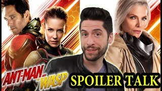 Ant-Man and the Wasp - SPOILER Talk