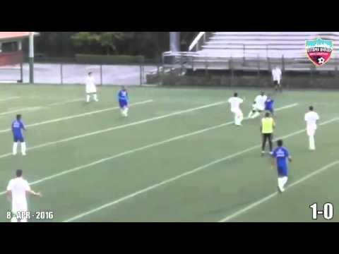 Primeiro gol de Adriano Imperador pelo Miami United na Pré-temporada