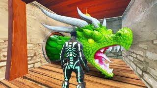 First DRAGON has been found in Fortnite!!!
