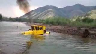 Russian Super Tractor in action!