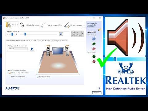 ✅ ICONO de REALTEK | Recupera y Habilita | Audio y Sonido para Windows