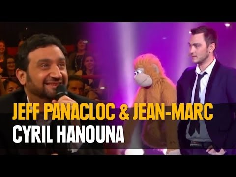 Jeff Panacloc et Jean-Marc au grand cabaret avec Cyril Hanouna
