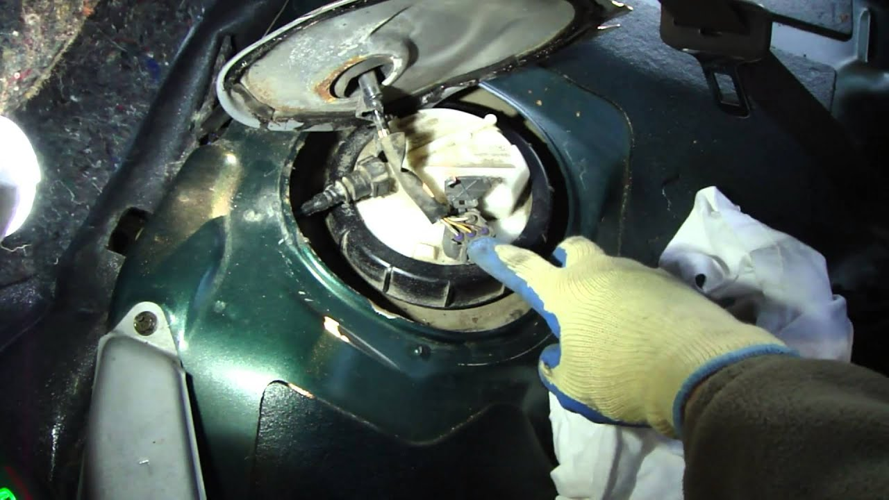 How To Change Fuel Pump Toyota Corolla Vvti Engine Youtube