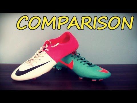 Nike Mercurial Vapor VIII vs Victory III   comparison