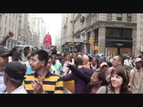 Jagannath Rath Yatra  in NY