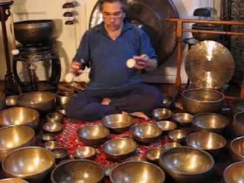 Gong and Tibetan Singing Bowl Meditation Music Videos