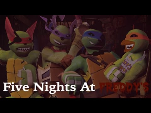Five nights at freddy s tmnt 2012 mv youtube