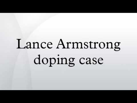 Lance Armstrong doping case