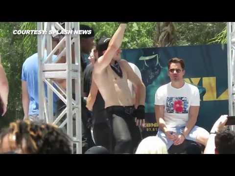 (VIDEO) Channing Tatum, Matt Bomer Dancing at LA Gay Pride Festival 2015 | Magic Mike XXL Promotions