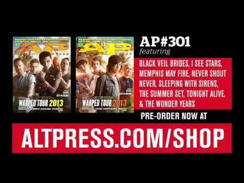 AP 301 (Warped Tour 2013 issue) cover reveal!