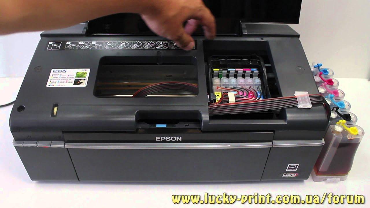 Как сделать так чтобы принтер печатал без краски
