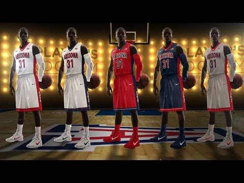 Arizona Basketball New Uniform Reveal
