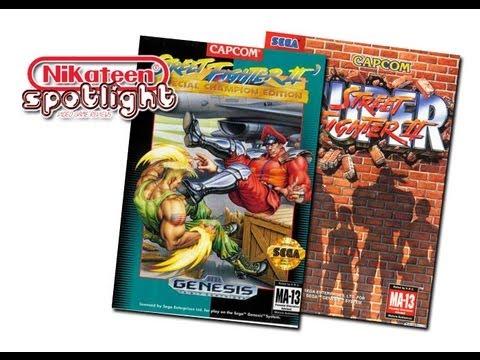 Spotlight Video Game Reviews - Street Fighter 2 Series (Genesis)