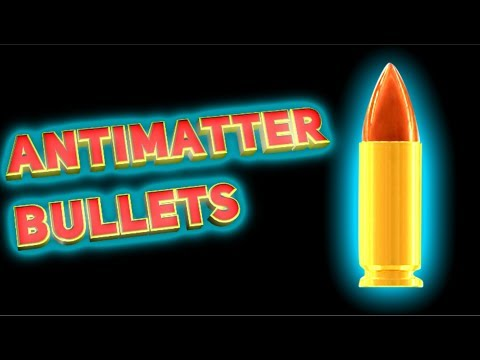 How dangerous are antimatter bullets?