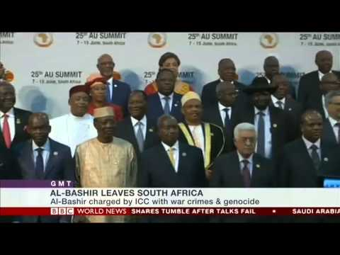 Sudan's president Omar al-Bashir leaves South Africa - where does this leave the ICC