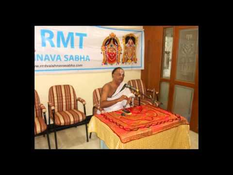 RMT Vaishnava Sabha 4th Discourse
