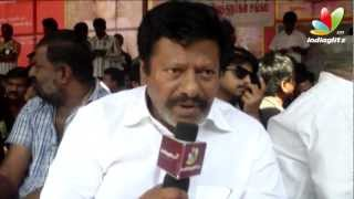 3 - Rajkiran, Fathimababu And Srikanth @ director's union fasting for Tamil Eelam