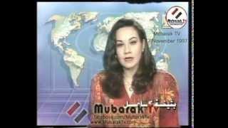 تقرير التليفزيون المصري عن مذبحة الأقصر 1997 والظهور الأول لعمر سليمان والعادلي