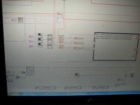Accelerometer+Labview+Arduino+2 Servos
