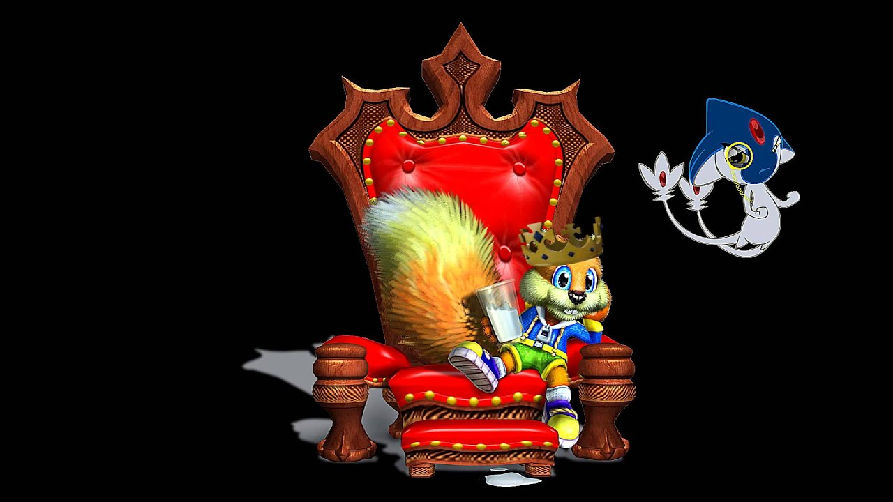 Conkers Bad Fur DayLive And Reloaded Mad Pitchfork Mashup YouTube