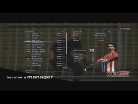 PES 2012 Football Life GC Trailer (PESKings.com)