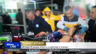At least 39 people killed in a nightclub in Istanbul