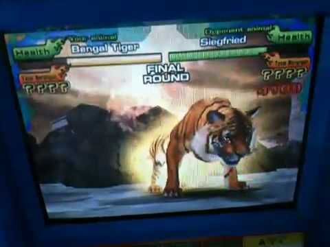 Animalkaiser Bengal tiger vs Siegfried