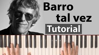 Luis Alberto Spinetta Barro tal vez Piano tutorial + lyrics + chords