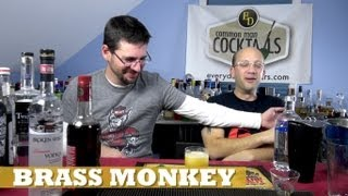 The Brass Monkey Cocktail