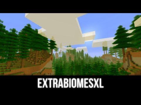 Minecraft Mod ExtraBiomsXL (NOWE BIOMY!)