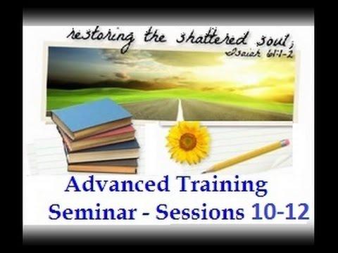 SRA / DID Advanced Training Sessions 10 - 12