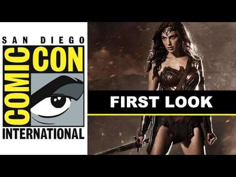 Comic Con 2014 - Wonder Woman Costume Reveal with Gal Gadot! : Beyond The Trailer