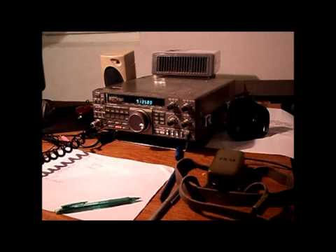 QRP QSO on 40 m Band with DF9YK - by 9A6PKT/QRP .wmv
