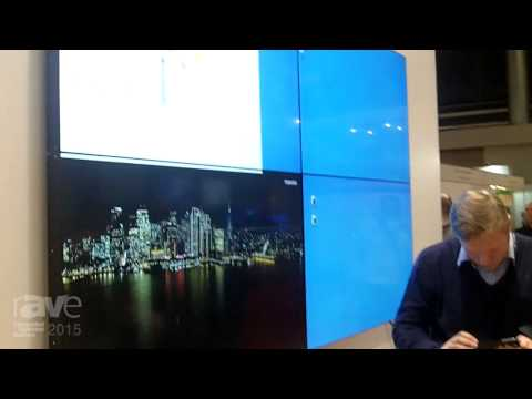 ISE 2015: Toshiba Shows TD-X Video Wall Solution and More