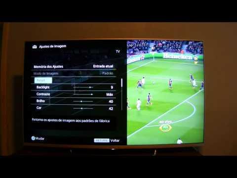 Sony Bravia 50W805B - 2014 - Função Futebol